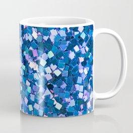 Dazzling Blue Sequences (Color) Coffee Mug
