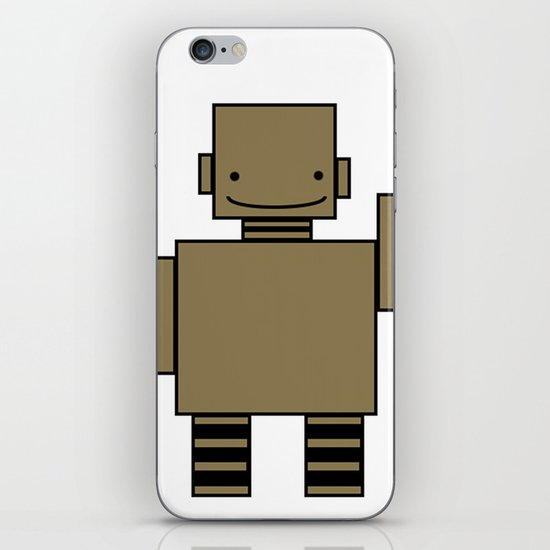 Robot  iPhone & iPod Skin