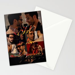 Art is love made public - Sense8 Stationery Cards