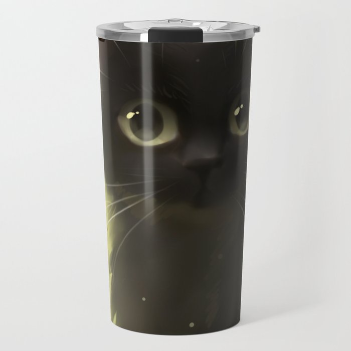 Savage Cat Travel Mug