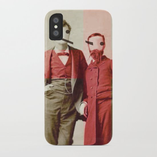 the backslash brothers iPhone Case