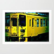 J Train Art Print