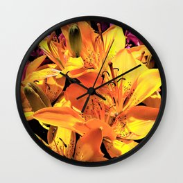 Daytime Stars Wall Clock