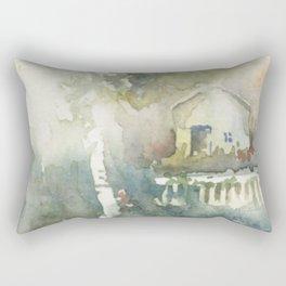 Secrets behind the Garden Shed Rectangular Pillow