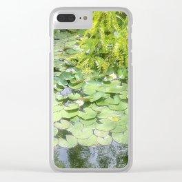 Fotografia ispirata ai dipinti di Monet. Photographie inspirée des peintures de Monet. Clear iPhone Case