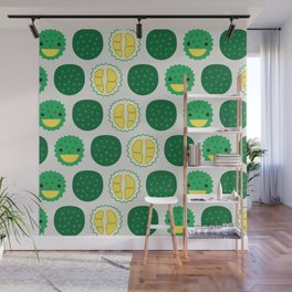 Dotty Durians II - Singapore Tropical Fruits Series Wall Mural