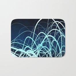Blue Movement2 Bath Mat