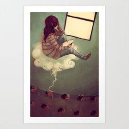 While I Dream Art Print