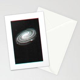 Redshift Blueshift Galaxy Print Stationery Cards