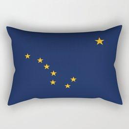 State flag of Alaska - Authentic version Rectangular Pillow