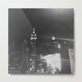 Insomnia City Metal Print