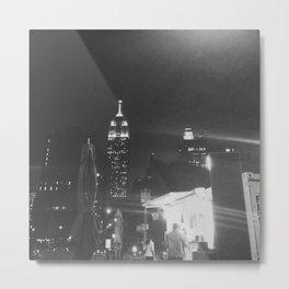 Insomnia City Metal Print