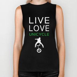 Perfect T-Shirt For Unicycle Lover. Gift Ideas For Brother. Biker Tank