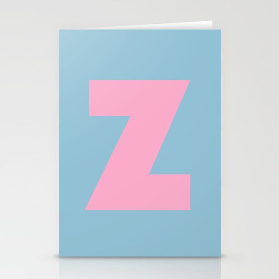 Z is for... Stationery Cards