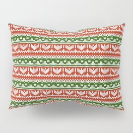 Abstract pattern: christmas Pillow Sham