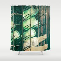 coke Shower Curtains featuring Coke or Pepsi by Page Hope - Photography