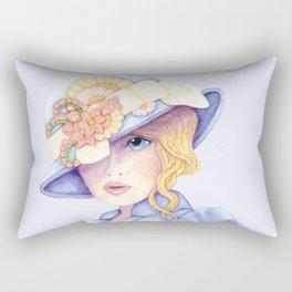 Ascot Girl Rectangular Pillow
