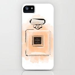 Orange Perfume iPhone Case