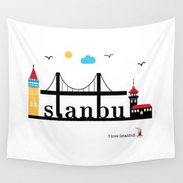 Istanbul. Wall Tapestry