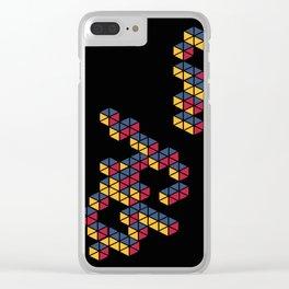 Block Depth Clear iPhone Case