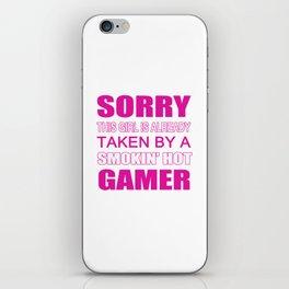 Taken By Gamer iPhone Skin