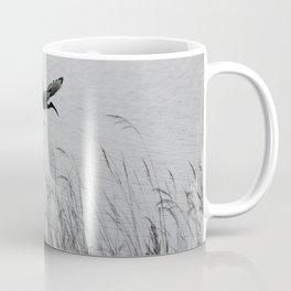 Sacred Ibis in flight Coffee Mug
