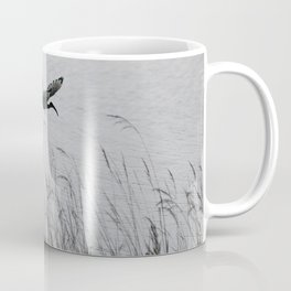 Sacred Ibis in flight Coffee Mug
