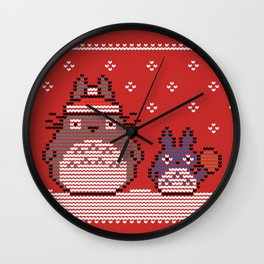 My 8-bit Neighbour Christmas Sweater Wall Clock