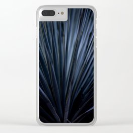 Blue Straws 2 Clear iPhone Case