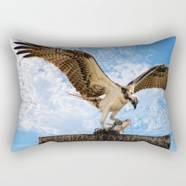 Nice Catch Rectangular Pillow