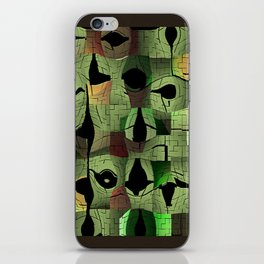 The puzzle iPhone Skin