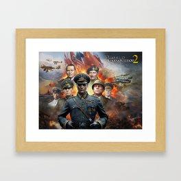 World Conqueror 2 poster Framed Art Print