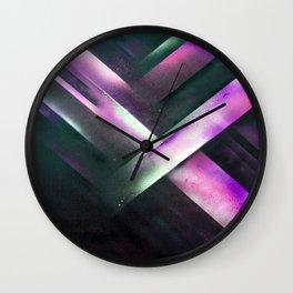 Vegas Nights Wall Clock