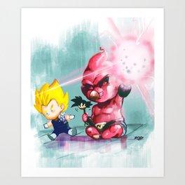 baby buu Art Print