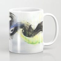 northern lights Mugs featuring Northern Lights by amity
