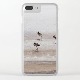 The wanderers Clear iPhone Case