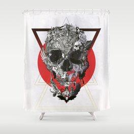 Skull Tale Shower Curtain
