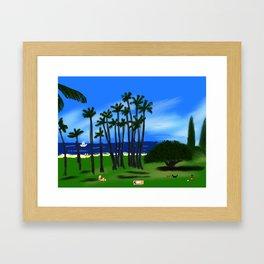 Hawaiian Holiday! Framed Art Print