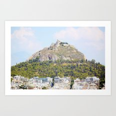 Athens in peace Art Print