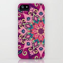 Mandala Bloom iPhone Case