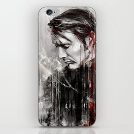 MM speed painting iPhone Skin