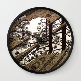 Esher - Puddle Wall Clock