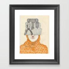 The Two Framed Art Print