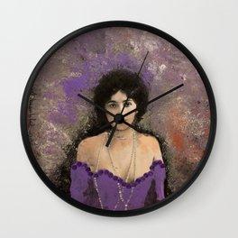 THE MOST BEAUTIFUL WOMAN Wall Clock