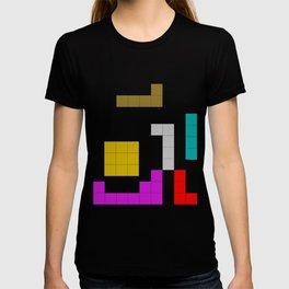 Tetris #society6 #decor #buyart #artprint T-shirt