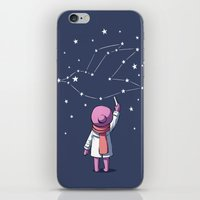constellation iPhone & iPod Skins featuring Constellation by Freeminds