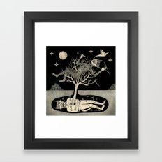 No Bad Deed Goes Unpunished Framed Art Print
