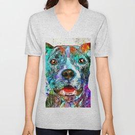 American Pit Bull Terrier Unisex V-Neck