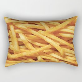 French Fries Diet Rectangular Pillow