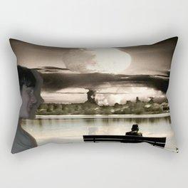 Atomic Bomb Boy Rectangular Pillow